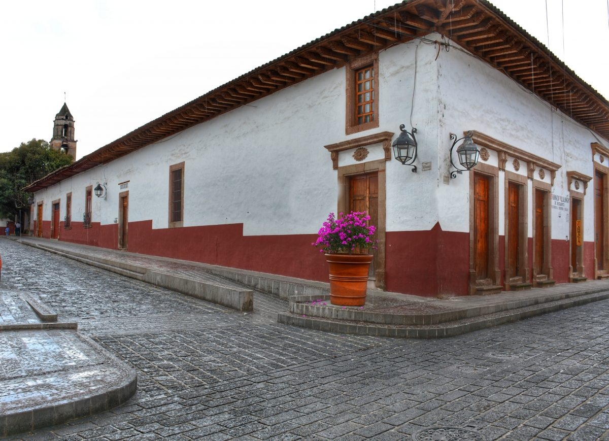Inicia recuperación de imagen urbana del Centro Histórico - Pátzcuaro Noticias