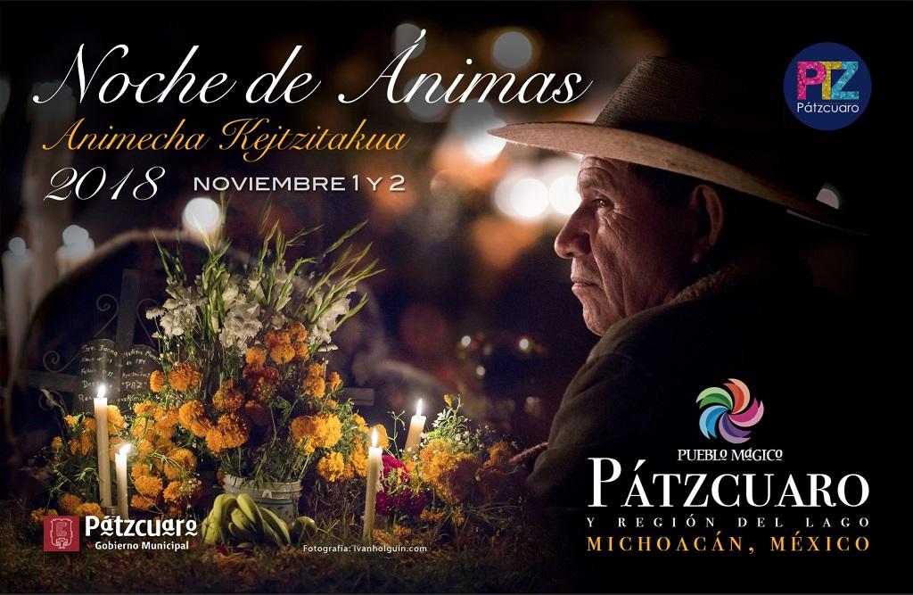 Presenta Víctor Báez programa cultural de Noche de Ánimas 2018