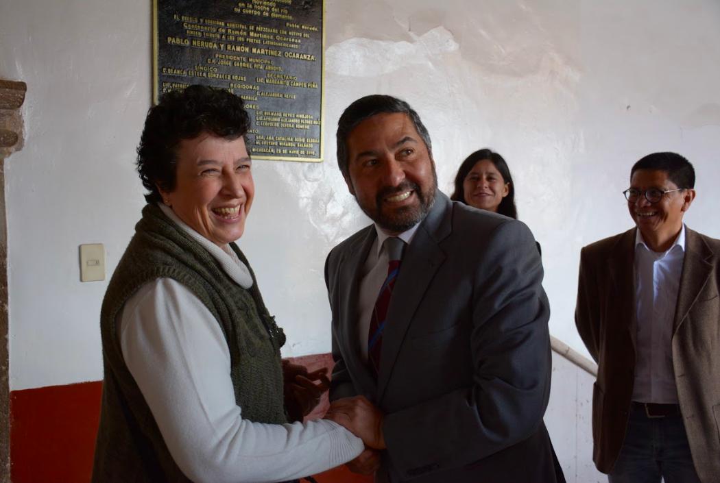 Anuncia Raquel Sosa la Escuela de Artes y Oficios para Pátzcuaro - Pátzcuaro Noticias