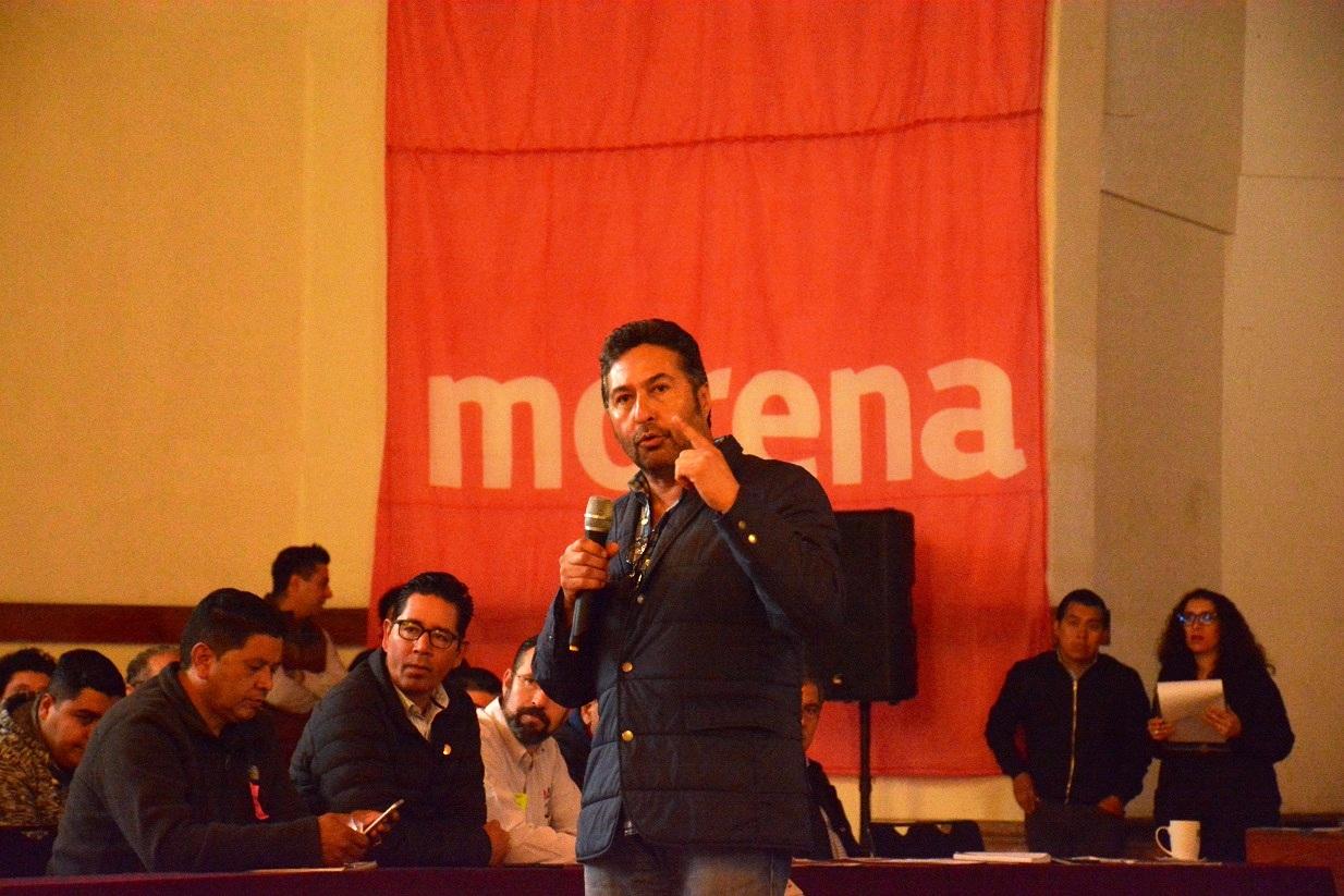 Alcaldes de la coalición MORENA-PT exhortan al gobierno del estado a resolver demandas de la CNTE