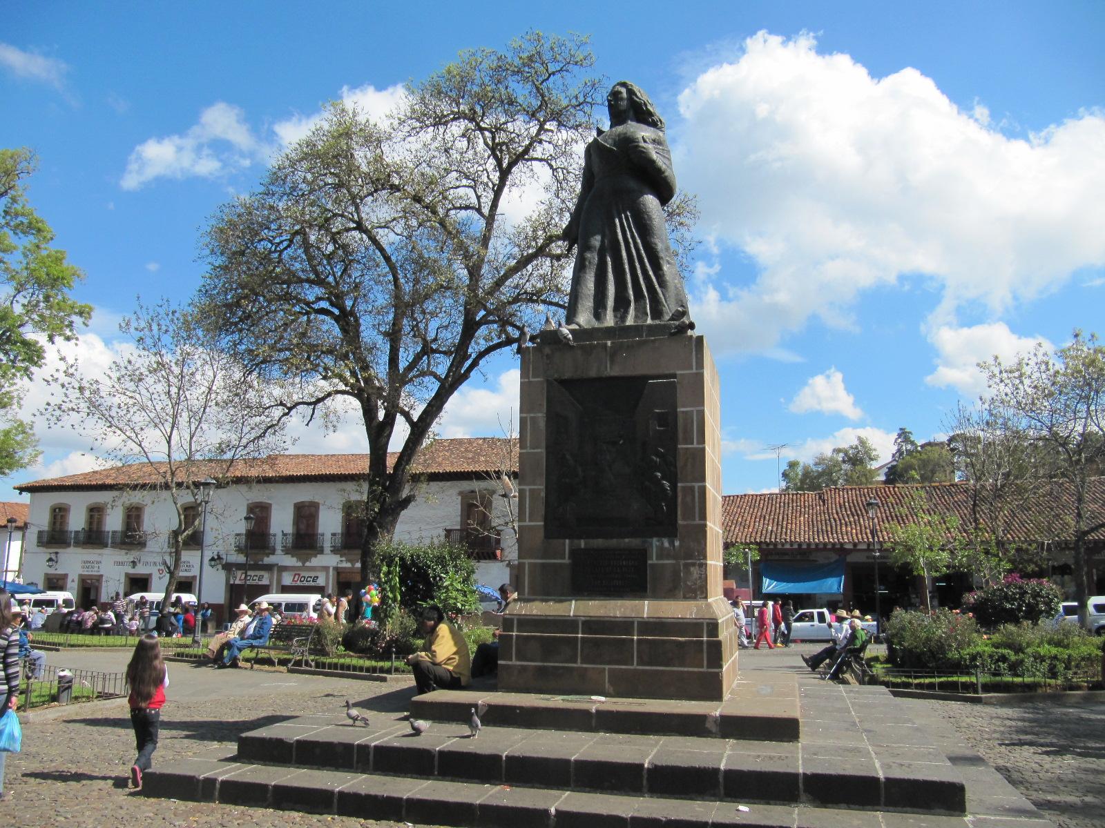 Lanzan convocatoria para la presea Gertrudis Bocanegra en Pátzcuaro