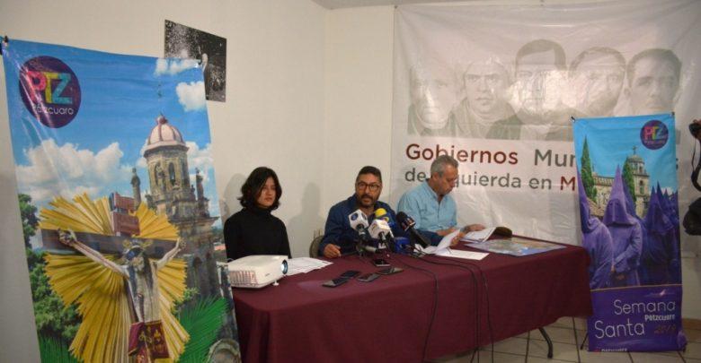 En pátzcuaro se vive la semana santa con mayor contenido simbólico del país: Víctor Báez - Pátzcuaro Noticias