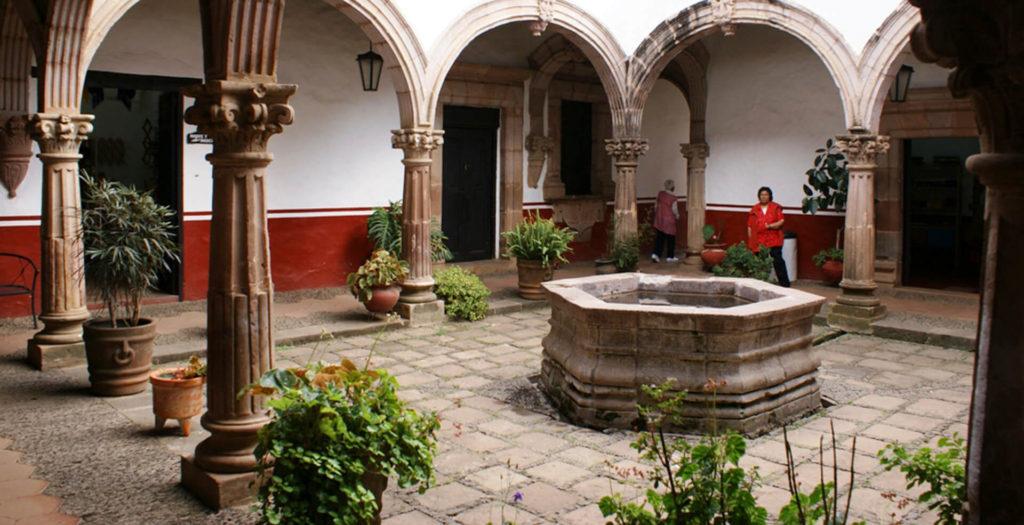 Casa de los Once Patios en Pátzcuaro, Michoacán