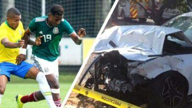 Joao Maleck, delantero mexicano habría conducido a exceso de velocidad; deja dos muertos