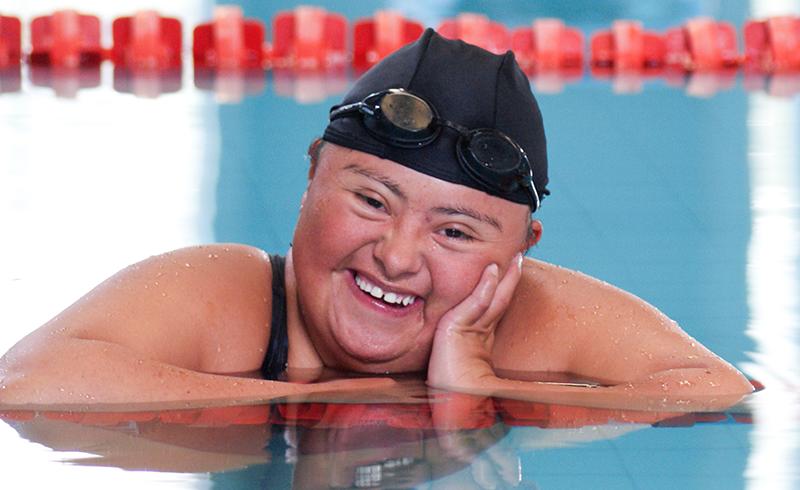 Nadadora mexicana con síndrome de Down suma 250 medallas