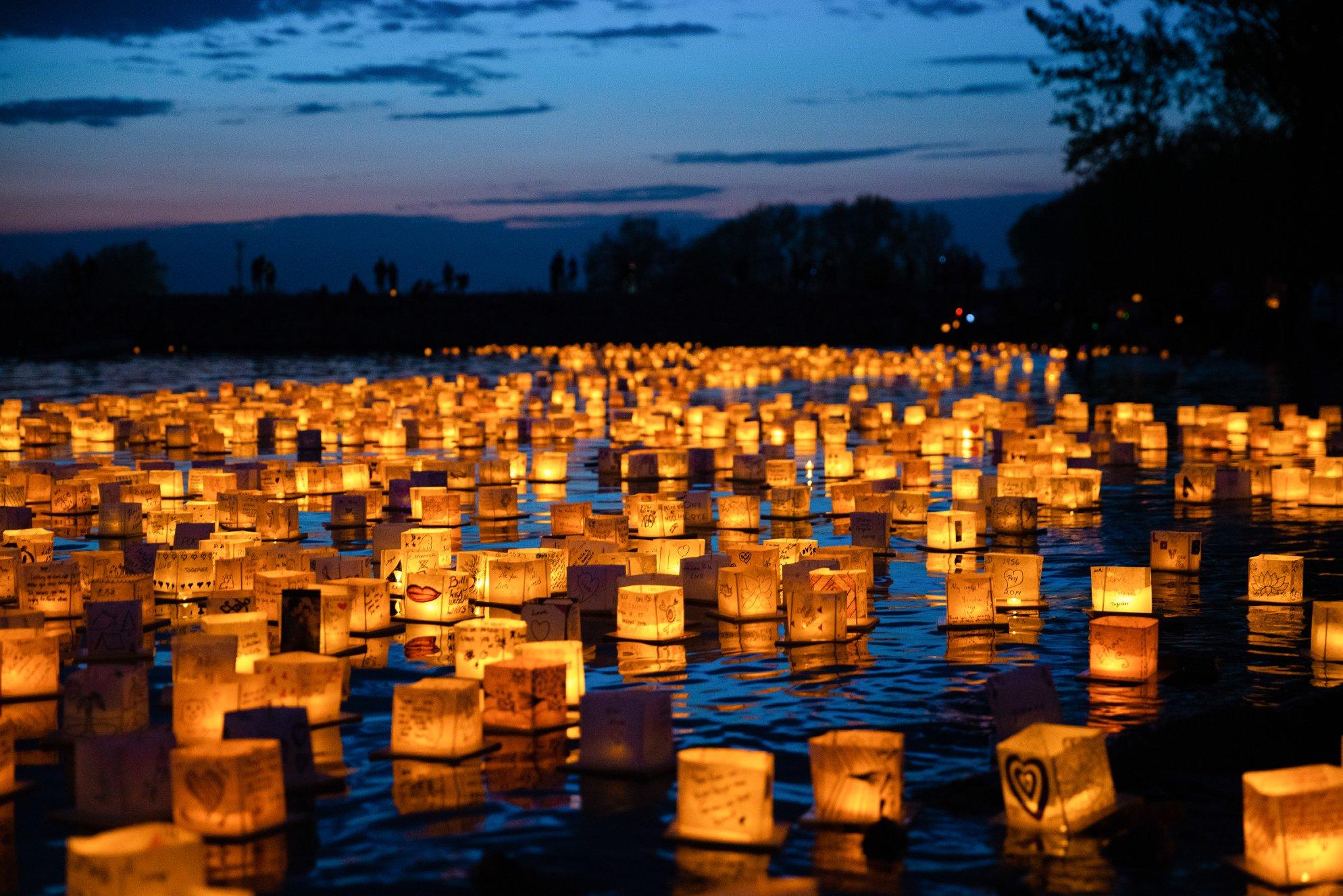Water Lantern Festival Pátzcuaro