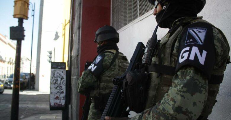 Guardia Nacional se enfrenta a secuestradores en Uruapan