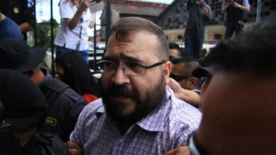 Javier Duarte dice que acordó entregarse para que no molestaran a su familia
