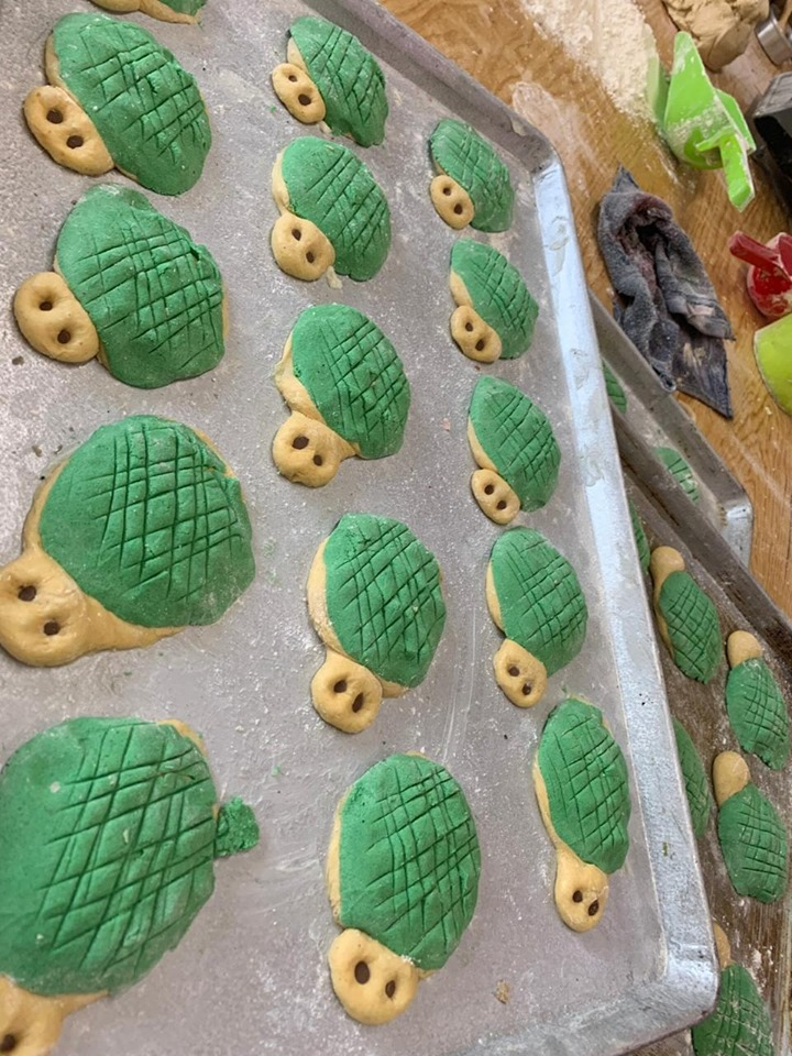 Prueba las tortuconchas en Pátzcuaro