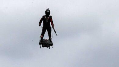 Soldado volador es sensación y ¿el militar del futuro? (VIDEO)