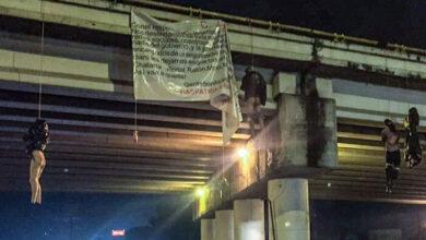 Cifra oficial de la Fiscalía de Michoacán: 20 cuerpos en puentes de Uruapan