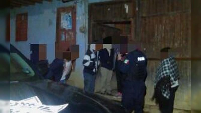 Localizan a víctima de extorsión telefónica, en Pátzcuaro