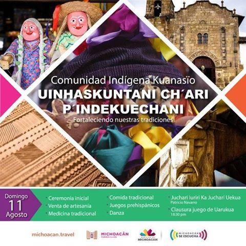Programa del Segundo Encuentro de Fortaleciendo las Tradiciones Culturales de Cuanajo