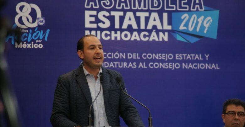 Destapan a Marko Cortés como candidato a la gubernatura de Michoacán