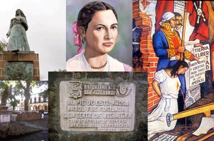 Gertrudis Bocanegra, patzcuarense que marcó la historia de México