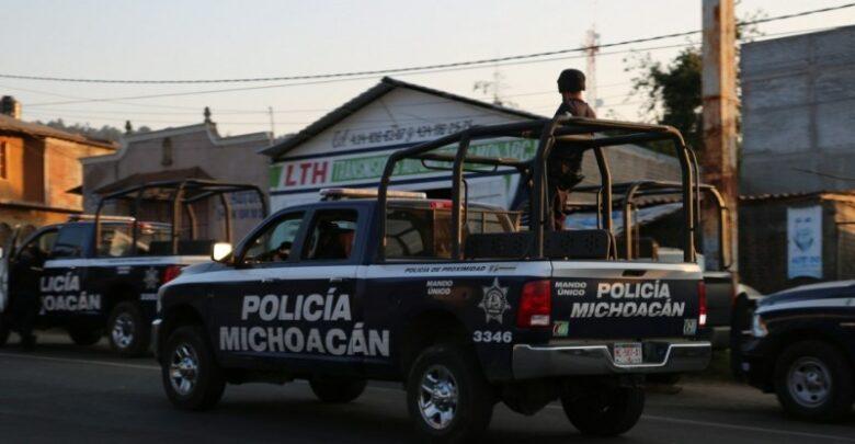 Policía frustra robo de hogar en Pátzcuaro
