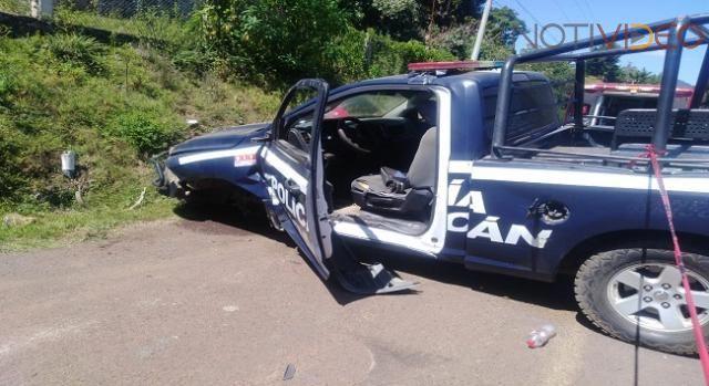 Un policía y un motociclista mueren en accidente carretero