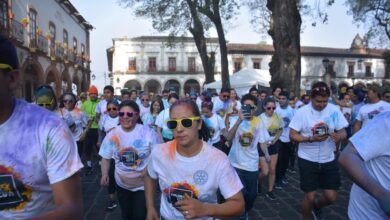 GALERÍA: Carrera Color War 5K Pátzcuaro
