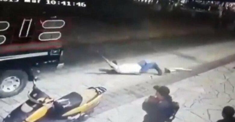 Alcalde de Chiapas, amarrado y arrastrado con una camioneta