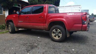 Aseguran en Pátzcuaro vehículo implicado en delito