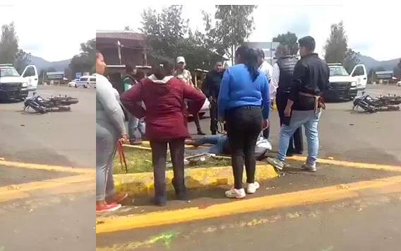 VIDEO: Fuerte accidente en Tzurumútaro