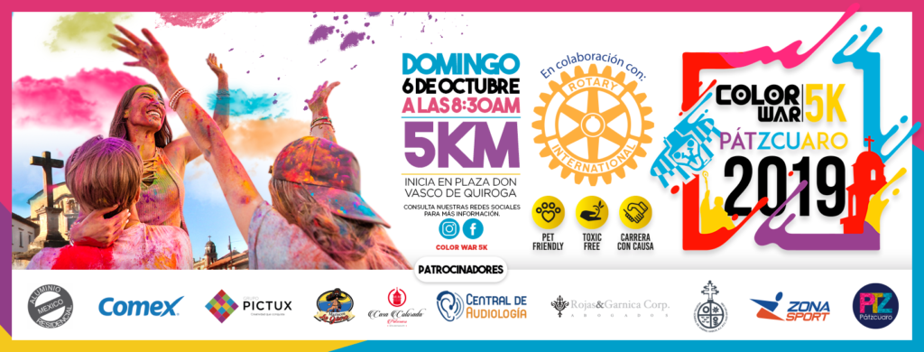 Carrera Color War 5K Pátzcuaro