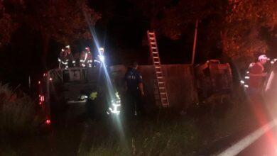 9 lesionados tras accidente de autobús cerca de Uruapan