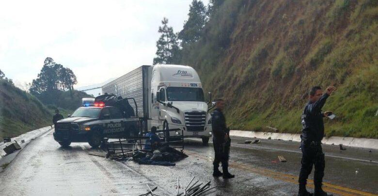 CONFIRMADO: 2 muertos y 8 heridos en la Pátzcuaro - Uruapan