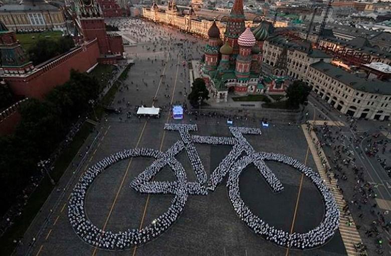 Formarán bicicleta humana monumental en Pátzcuaro