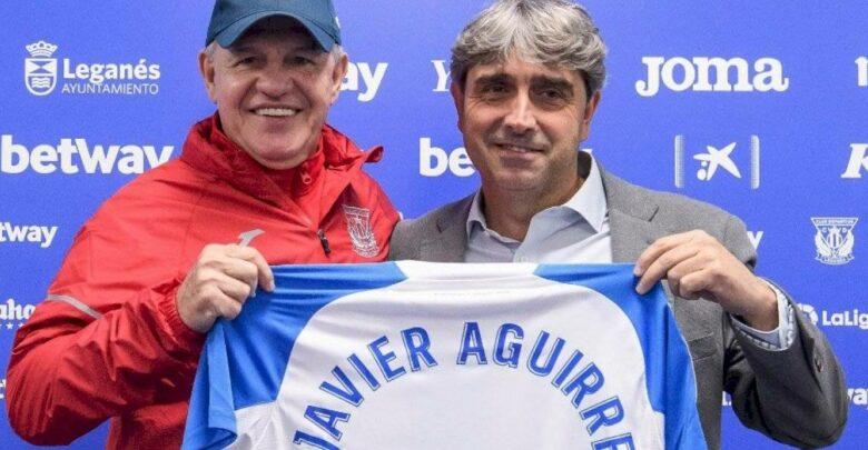Javier Aguirre es el nuevo DT del Leganés