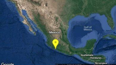 Reportan sismo de magnitud 4.8 en Michoacán
