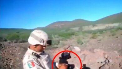 VIDEO: Granada le explota en la mano a un soldado en Coahuila