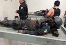 VIDEO: Policías lloran muerte de 5 compañeros en emboscada