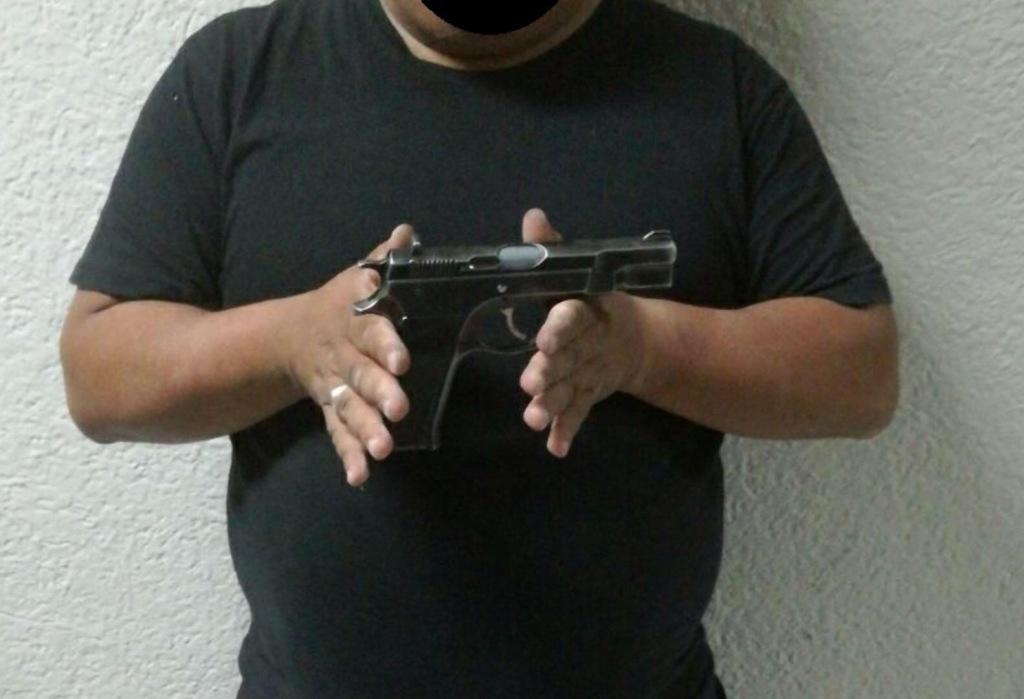 En Pátzcuaro detienen a sujeto en posesión de arma de fuego