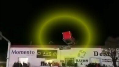 Santa Claus estrelló su trineo en Tlaxcala