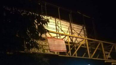 Aparecen narcomantas en en Uruapan, Michoacán