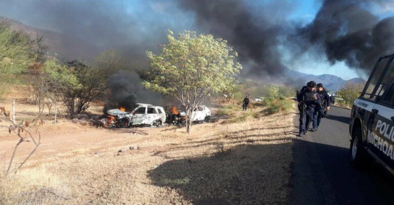 Enfrentamiento en Michoacán deja saldo preliminar de 3 muertos