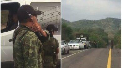 Hombres armados instalan retenes en Michoacán