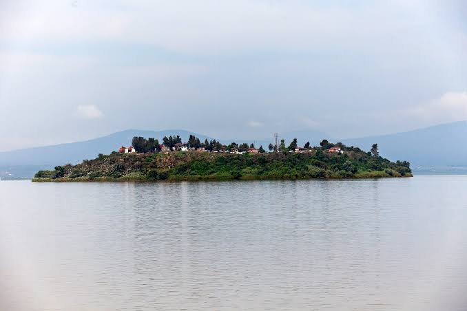 Isla de Pacanda lago de Pátzcuaro