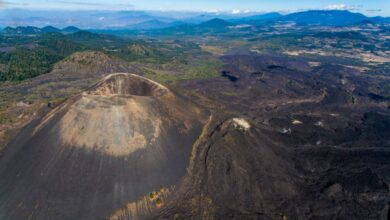 Registran 59 sismos en zona del volcán Paricutín