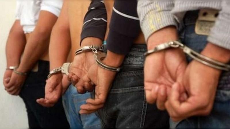 Detienen a 9 personas en Pátzcuaro tras balacera