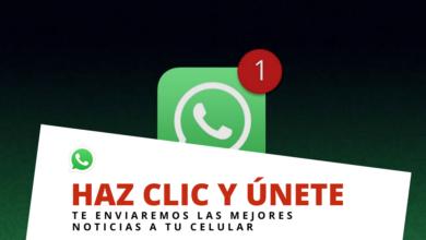 Únete al WhatsApp de Pátzcuaro Noticias y recibe gratis nuestras noticias en tu celular