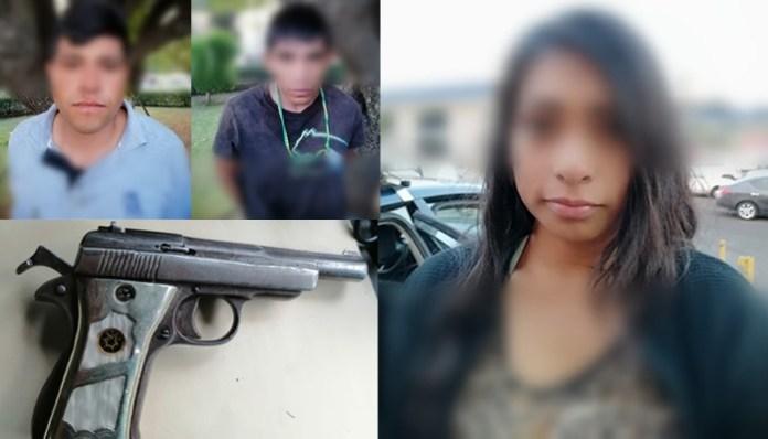 Detienen a 3 en posesión de arma de fuego y droga, en Pátzcuaro