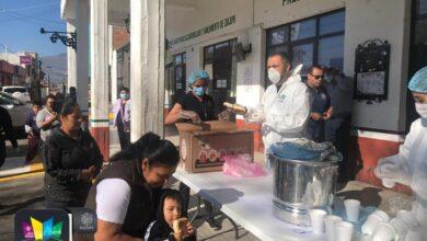 Alcalde de Zacapu, Luis Felipe León, instala comedores gratuitos para grupos vulnerables