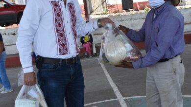 Entregarán mil despensas por semana a las familias más humildes en Erongarícuaro