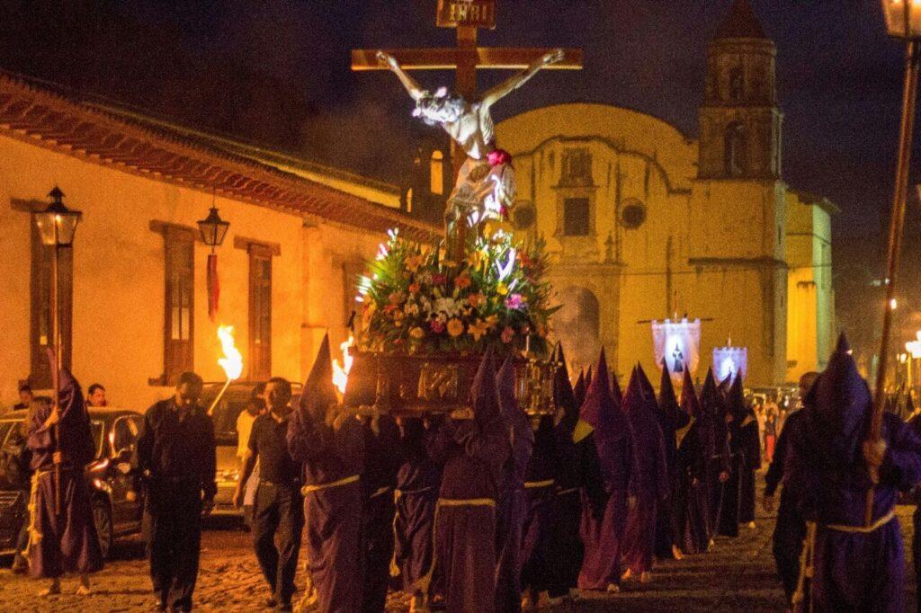 Procesión del Silencio en Pátzcuaro