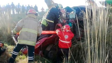 Familia pierde la vida en terrible accidente en la Zitácuaro-Toluca