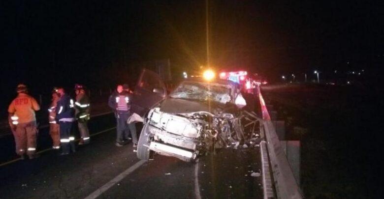 Fatal accidente en Michoacán tras chocar de frente contra un tráiler