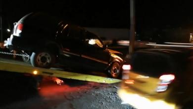 Morelia: Camioneta choca en la salida a Pátzcuaro