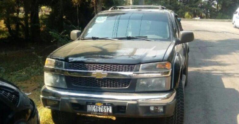 Recuperan en Pátzcuaro camioneta con reporte de robo